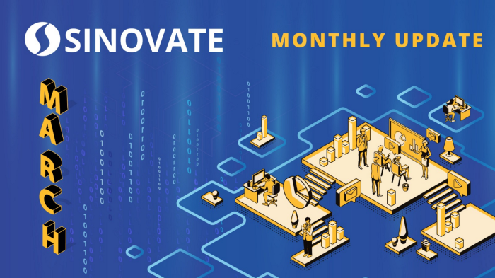 SINOVATE Monthly Report: March 2020