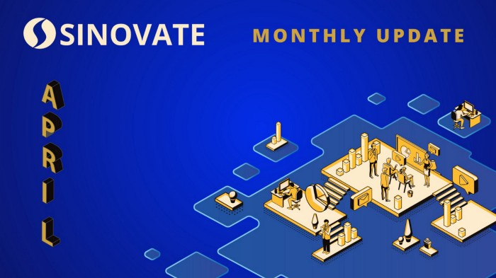 SINOVATE Monthly Report: April 2020