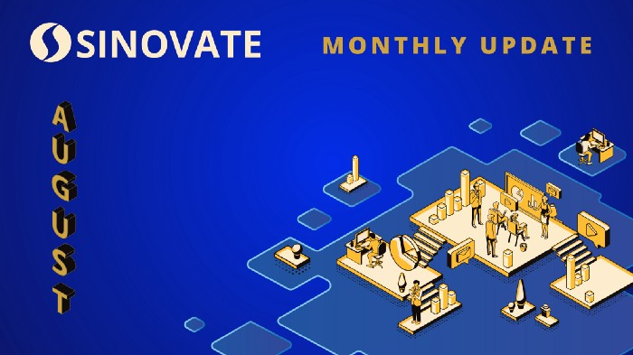SINOVATE Monthly Report: August 2020