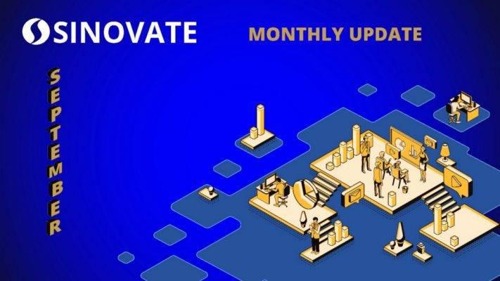 SINOVATE Monthly Report: September 2020