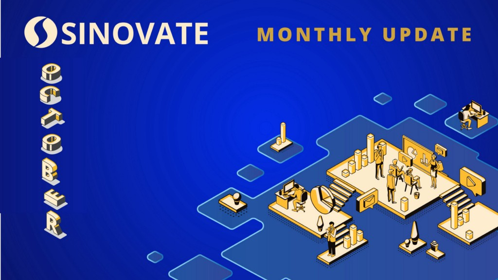 SINOVATE Monthly Report: October 2020