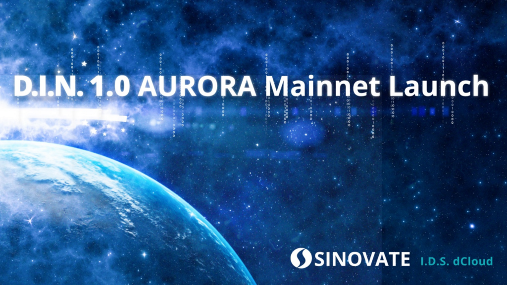 SINOVATE Mainnet Launch AURORA at block 550,000