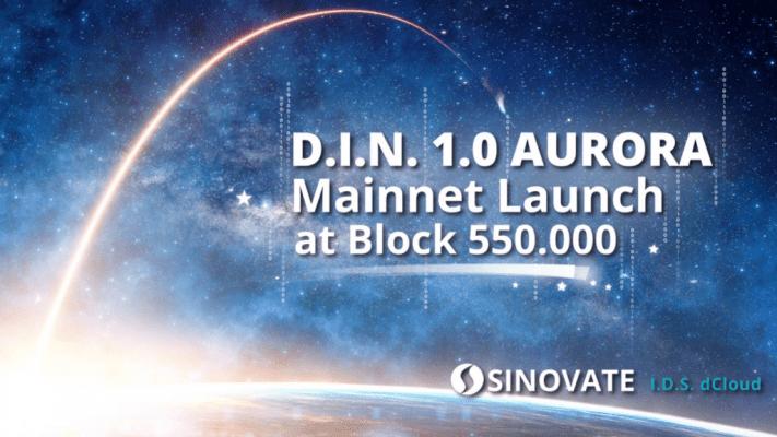 SINOVATE AURORA Mainnet goes live