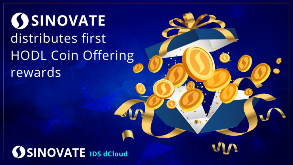 SINOVATE distributes first HODL Coin Offering rewards