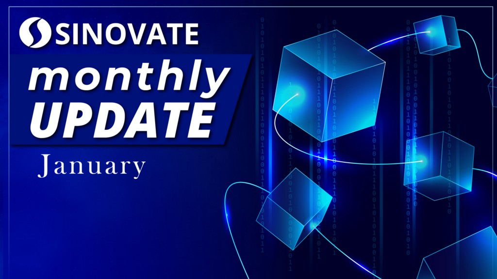 SINOVATE Monthly Report: January 2021