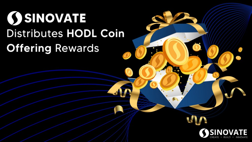 SINOVATE fully distributes initial HODL Coin Offering rewards