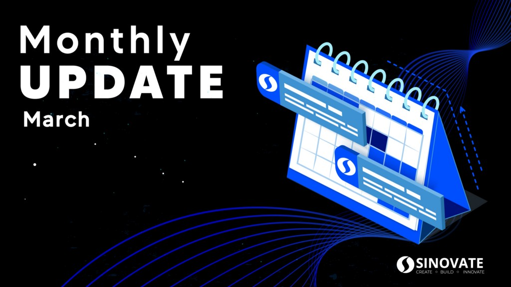 SINOVATE Monthly Report: March 2021