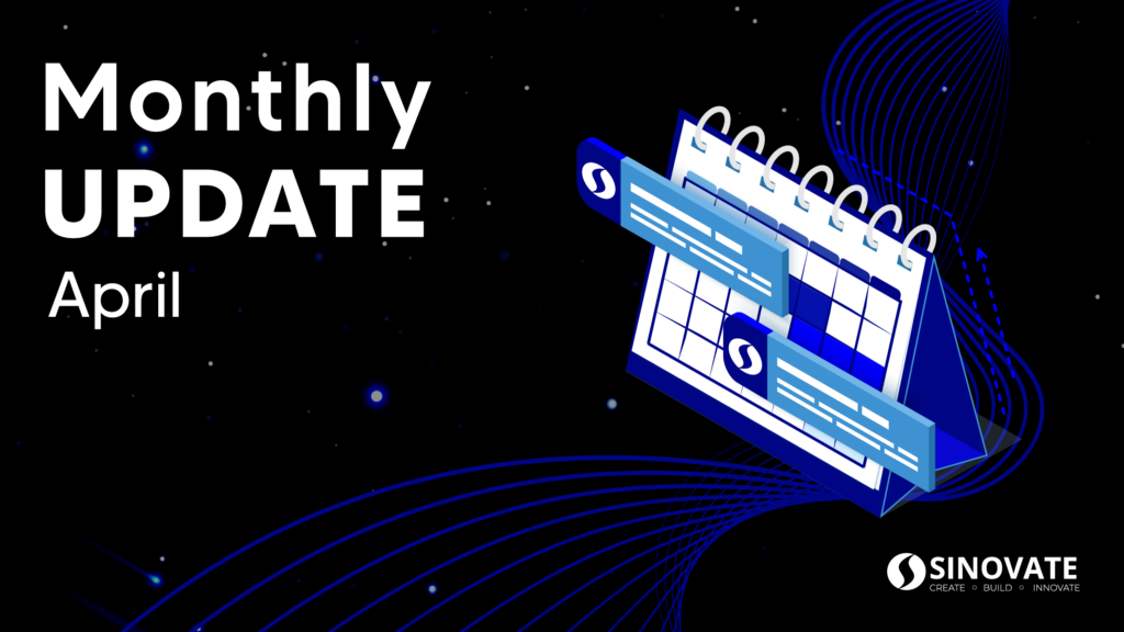 SINOVATE Monthly Report: April 2021