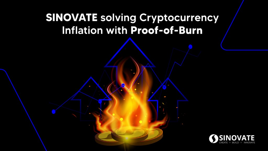 SINOVATE solving Cryptocurrency Inflation with Proof-of-Burn