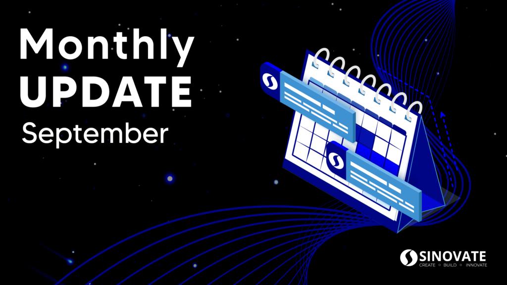 SINOVATE Monthly Update: September 2021