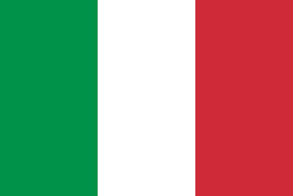 italy flag medium