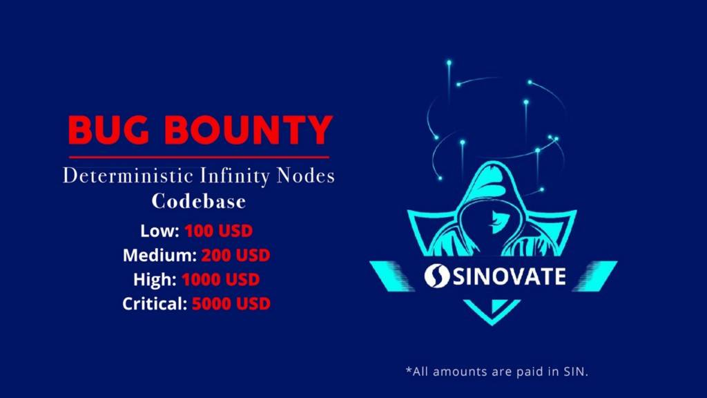 sinovate deterministic infinitynodes bug bounty